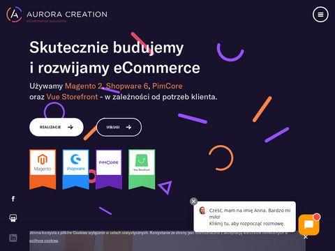 Aurora Creation - sklepy internetowe na Magento