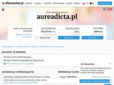 Aureadicta.pl