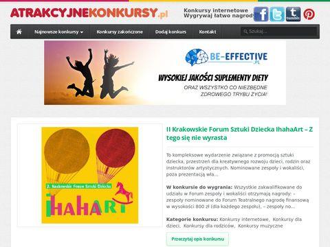 Atrakcyjnekonkursy.pl - konkursy z nagrodami