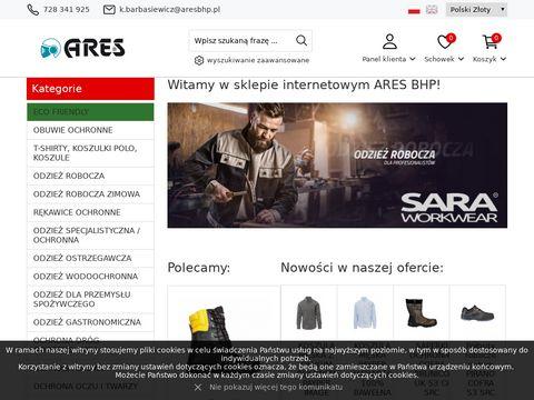 Ares.com.pl sklep BHP