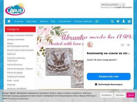 Arus.pl pościel do łóżeczka dziecięcego