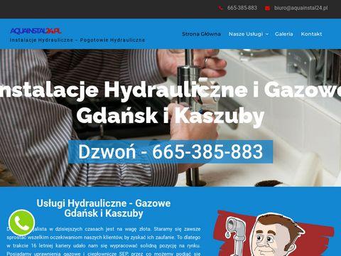 Aquainstal24.pl hydraulik Gdynia