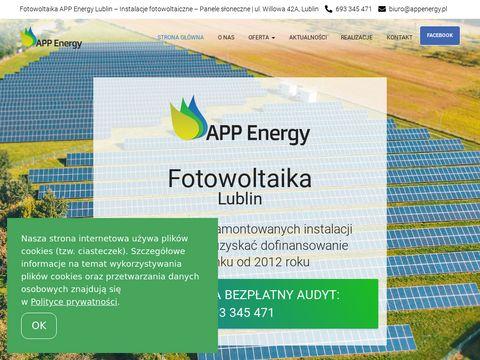 Aappenergy.pl instalacje fotowoltaiczne w Lublinie