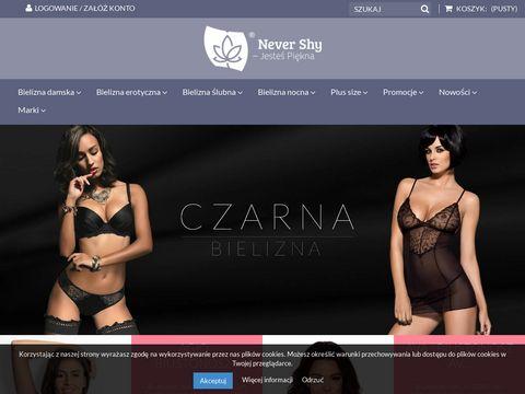 NeverShy.pl - Gorsety protetyczne