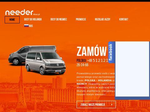 Nbus.pl Needer busy do Holandii i Niemiec