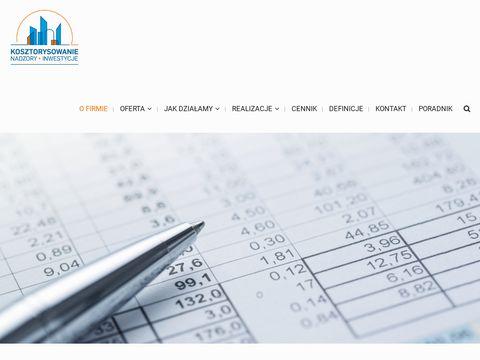 Nadzory-piotrowski.pl kosztorysowanie