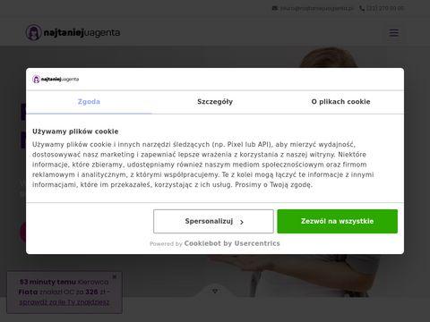 Najtaniejuagenta.pl