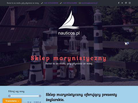 Nauticos.pl sklep marynistyczny rejsy morskie