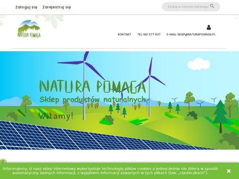 Naturapomaga.pl ekologiczne przyprawy