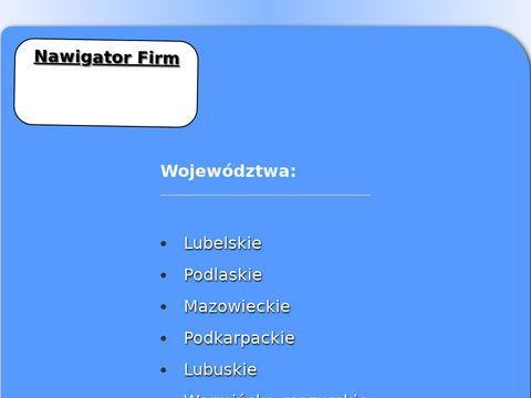 Ogólnopolska baza firm, nawigator-firm.pl
