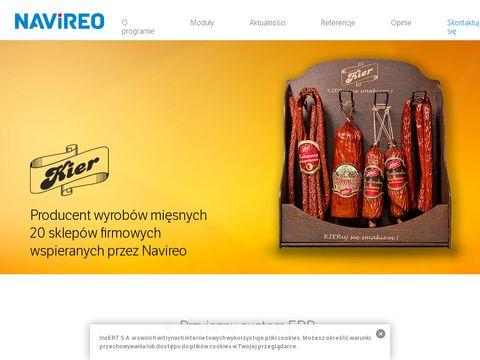 Navireo - system ERP do zarządzania