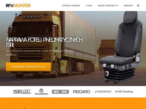 Naprawa-foteli-tir.pl RF Monter