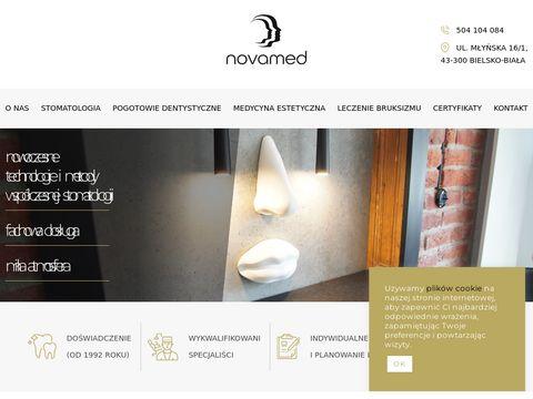 Novamed-bielsko.pl dyżury dentysta weekend