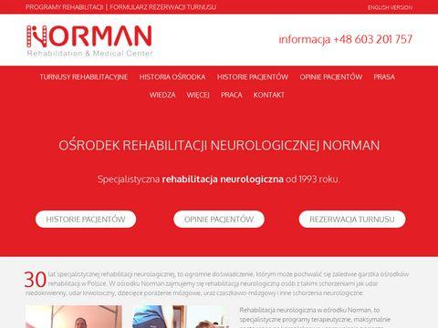 Normanrehabilitation.com specjalistyczny ośrodek