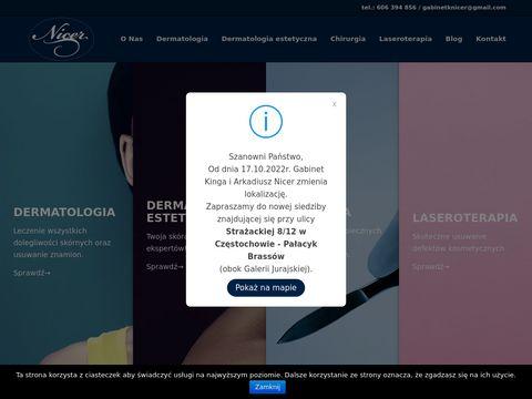 Nicer.pl - dermatologia estetyczna Częstochowa