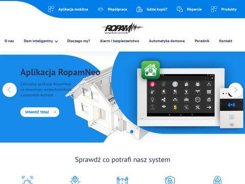 Ropam system inteligentnego budynku