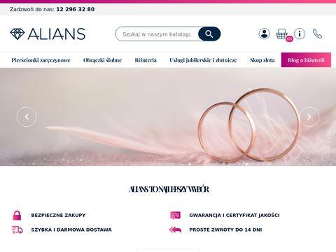 Obraczki.net.pl sklep jubilerski