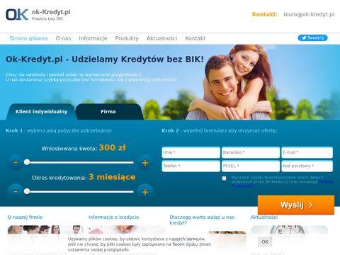 Ok-kredyt.pl kredyt bez big