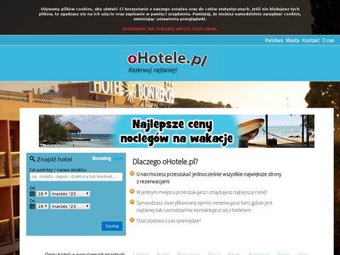 Najtańsze hotele