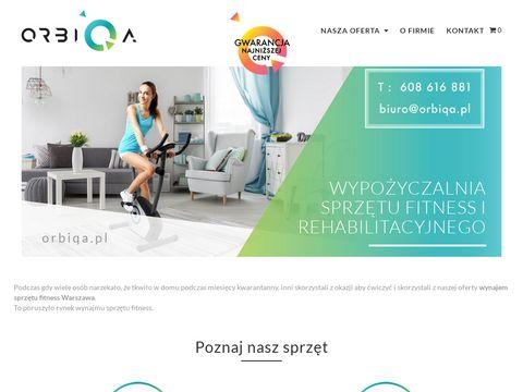 Orbiqa.pl wiosła wypożyczalnia