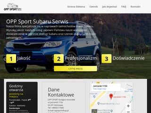 Oppsubaru.pl serwis