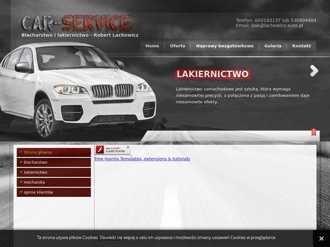 Lachowicz.auto.pl blacharstwo, lakiernictwo