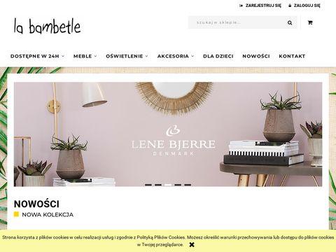 Labambetle.pl designerskie meble i ackesoria