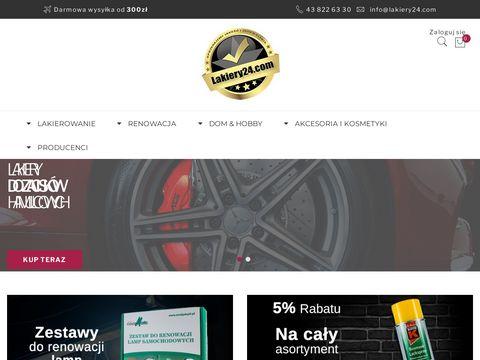 Lakiery24.com - samochodowe w sprayu