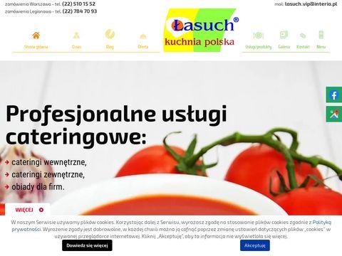 Łasuch obiady domowe Białołęka
