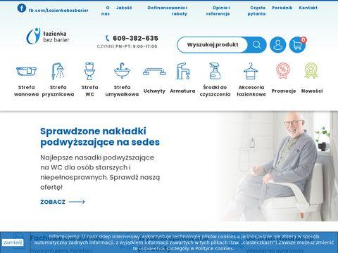 Lazienkabezbarier.com.pl dla seniora