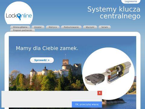 Lockonline.pl system jednego klucza