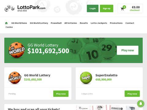 Lottopark.com online