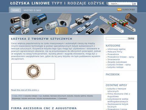 Lozyska-liniowe.com.pl - rodzaje