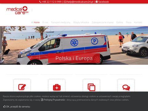 Medicacare24.pl szkolenia z pierwszej pomocy