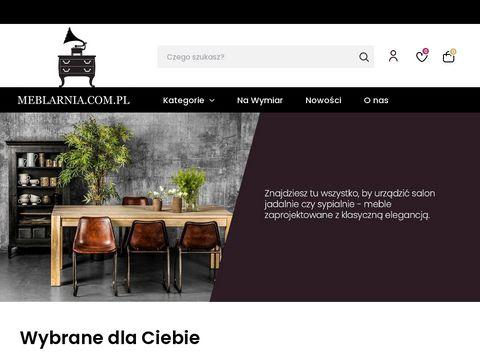 Meblarnia.com.pl oryginalne meble do salonu