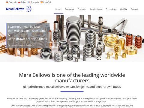 Merabellows.com Stainless Steel