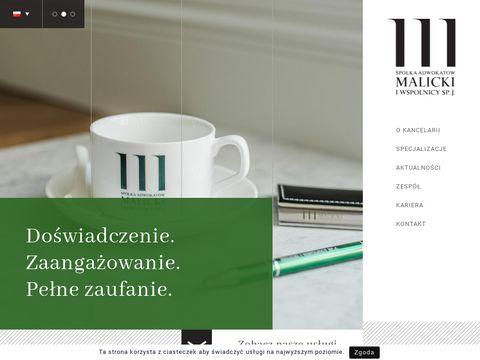 Malicki.wroc.pl adwokat Wrocław