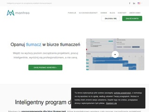 Mantreo.com oprogramowanie dla tłumaczy