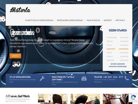 Materla.com.pl Serwis klimatyzacji samochodowej