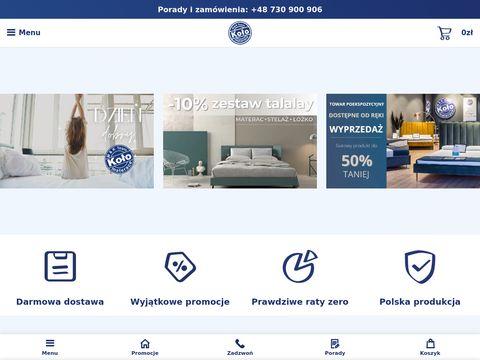 Materacekolo.sklep.pl - materace lateksowe