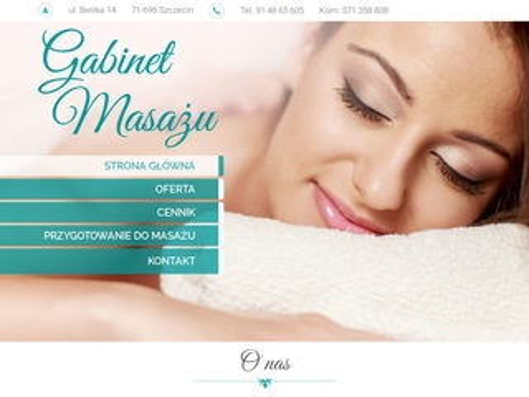 Masaz-szczecin.com.pl ujędrniający