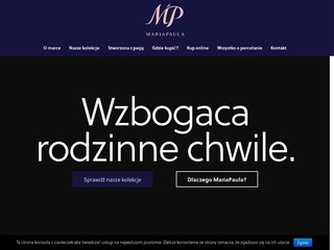 Mariapaula.pl - porcelana