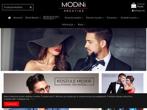Modini.pl sklep z odzieżą męską