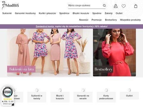 Modbis.pl sklep z sukienkami xxl