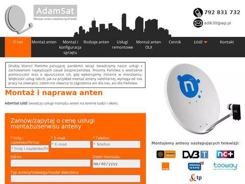 Montaz-anten-lodz.pl - AdamSat