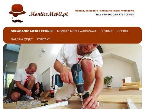Montiermebli.pl - montaż Warszawa