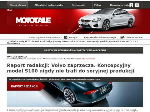 Mototaile.pl nowości ze świata motoryzacji
