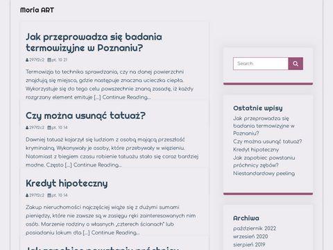 Moria-art.pl koszulki rockowe