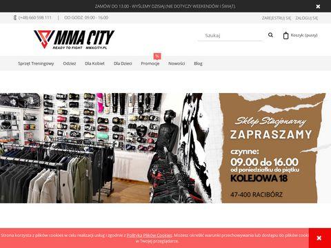 Mmacity.pl sprzęt i do MMA