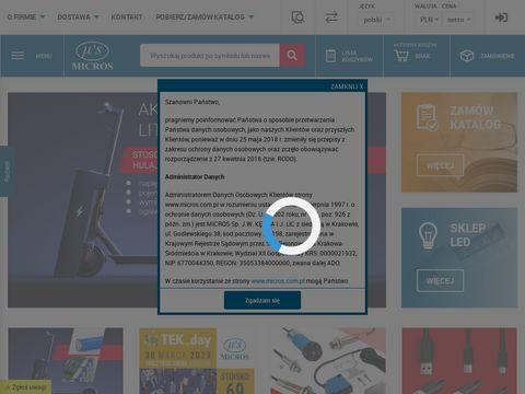 Micros - hurtownia części elektronicznych